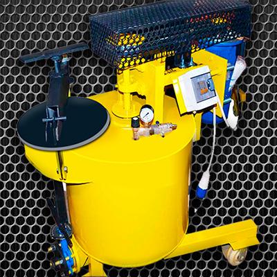 Установка для производства пенобетона БАС 130